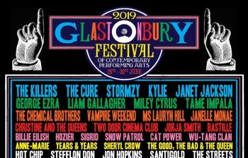 Në Glastonbury Festival 2019 do të performojnë The Killers, Stormzy, Kylie Minogue, Miley Cyrus, Lauryn Hill etj