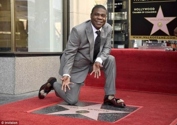 Tracy Morgan me yll në Hollywood Walk of Fame