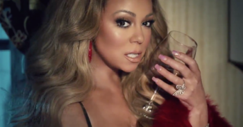 Mariah Carey, publikon këngën e re (Video)